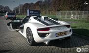 Spot van de dag: Porsche 918 Spyder
