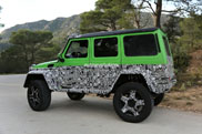 Mercedes keeps on going with the G 63 AMG 4x4