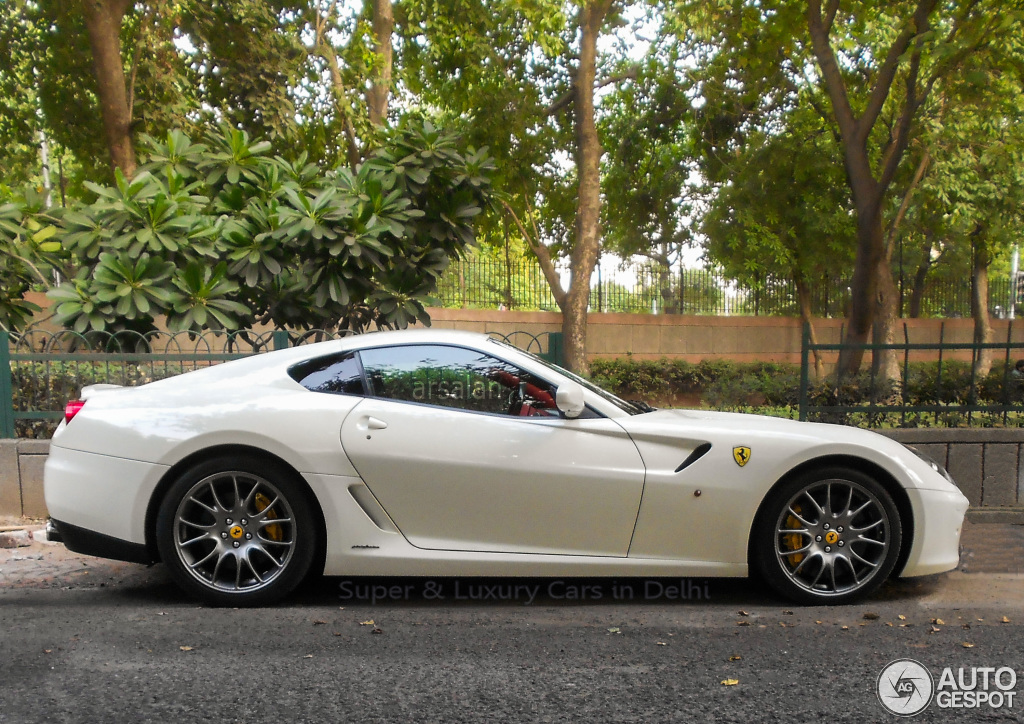Spotted Ferrari 599 Hgte In Delhi