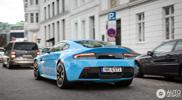 Baby blue Aston Martin V12 Vantage S is just lovely