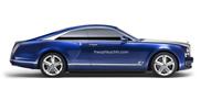 Bentley Grand Coupé ziet er gelikt uit