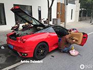 In China was je je Ferrari F430 bijna op straat