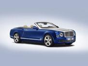 Bentley présente son tout dernier cabriolet