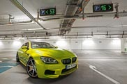 BMW M6 Gran Coupé door PP Performance getraind