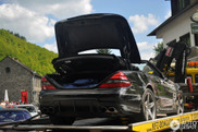 Mercedes-Benz SL 63 AMG is too heavy for the Nürburgring