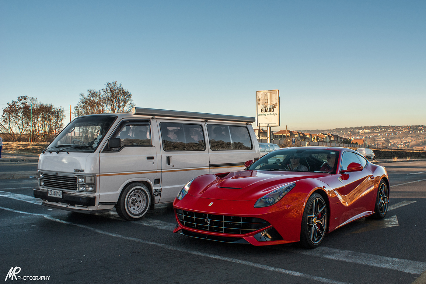 These cars were spotted in South Africa last week