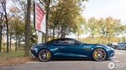 Spot van de dag: Aston Martin Vanquish Volante in combo