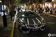Opvallende Lamborghini Aventador accentueert de lijntjes