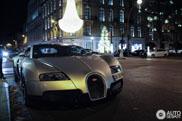 In de kerststemming komen met deze Bugatti