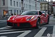 Gespot: Ferrari 488 GTB met een lekker neusje