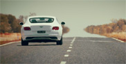 Bentley shows of with top speed of the Continental GT Speed