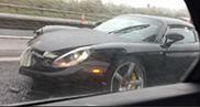 Porsche Carrera GT im Regen gecrasht!!