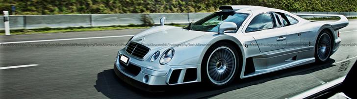 A spot you can only dream of: Mercedes-Benz CLK-GTR AMG