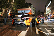 McLaren P1 GTR appears on the streets of London