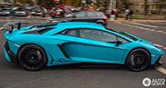 Heerlijke Lamborghini Aventador LP750-4 SuperVeloce gespot