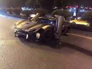 Koenigsegg Agera bijt in het stof in China