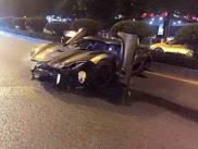 Koenigsegg Agera in China geschrottet