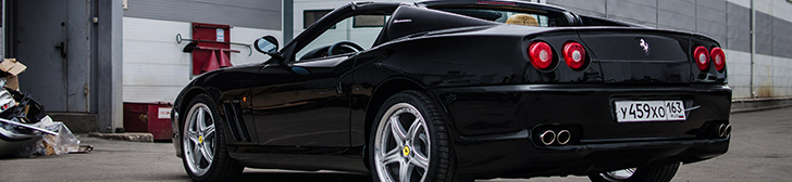 Photoshoot: Ferrari 575 SuperAmerica