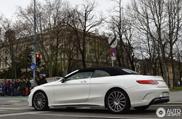 Imposant en luxe, de Mercedes-AMG S 63 Convertible