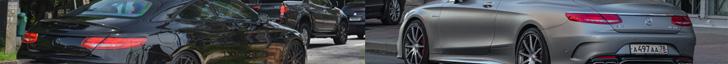 Kiezen! Volledig zwart of een matgrijze Mercedes-Benz S 63 AMG Coupé
