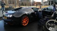 Spot van de dag: Bugatti Veyron WRC in Leiden