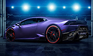 Purple monster: Lamborghini Novara Huracan LP610-4