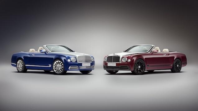 Open rijden in stijl, Bentley Grand Convertible by Mulliner