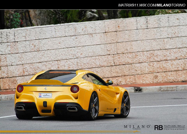Rendering: Ferrari F12berlinetta Giallo Acquila