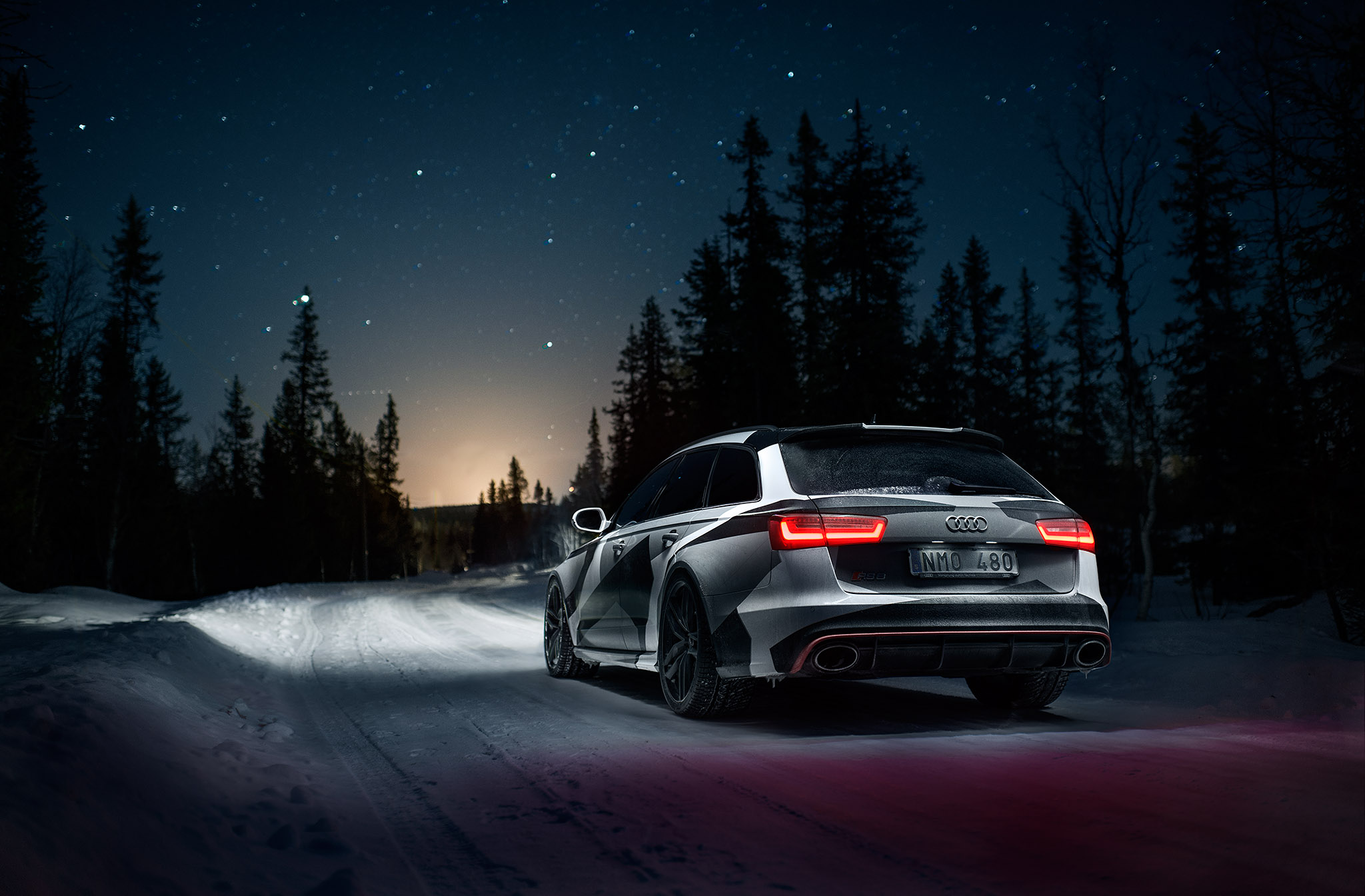 Jon Olsson Gives His Audi Rs6 Avant The Famous Camowrap