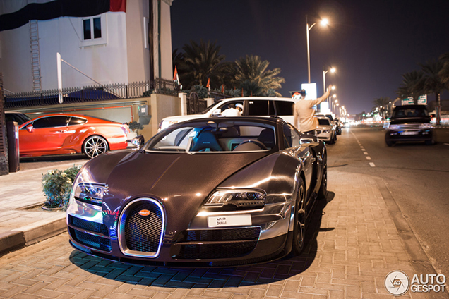 We saw this Bugatti on the Dubai Motor Show and now it's spotted!