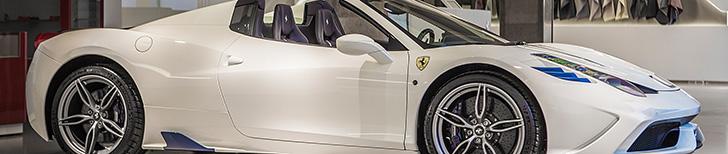 Première Ferrari 458 Speciale Aperta en Pologne