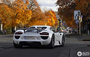 Porsche 918 Spyder is a big success in the United States