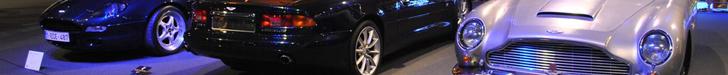 100 jaar Aston Martin in Autoworld Brussel