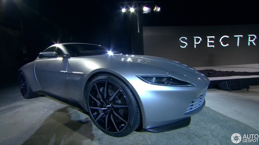 Brilliant James Bond Will Drive An Aston Martin DB10 In The New