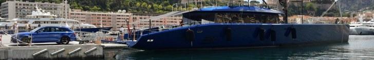 Eigenaar matcht zijn boot met Audi RS6 Avant