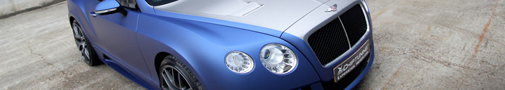 Persoonlijk sausje voor deze Bentley Continental GT Mansory