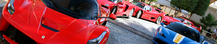 Is this the Ferrari combo of the year in Dubai?