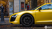 Yellow Audi R8 looks really amazing