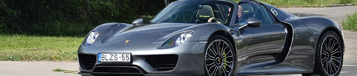 Porsche 918 Spyder has almost 50.000 views
