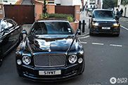 Bentley Mulsanne van James Stunt krijgt Mansory make-over
