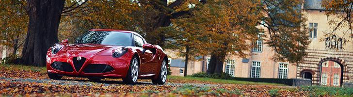Fotoshoot: Alfa Romeo 4C Launch Edition