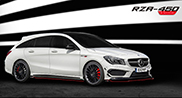 RevoZport can't stay away from the CLA Shooting Brake