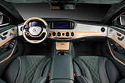 TopCar verfraait interieur Mercedes-Benz S600 Guard
