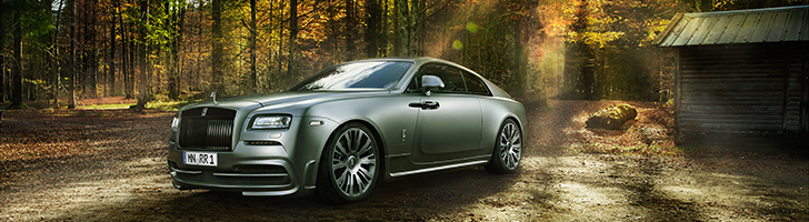 Spofec highlights sportsmanship on the Rolls-Royce Wraith