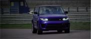 Filmpje: Range Rover Sport SVR wordt tot aan grensbereik getest