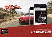 Autogespot nu ook te volgen met de app TagMyRide
