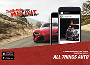 You can now follow Autogespot via the TagMyRide app