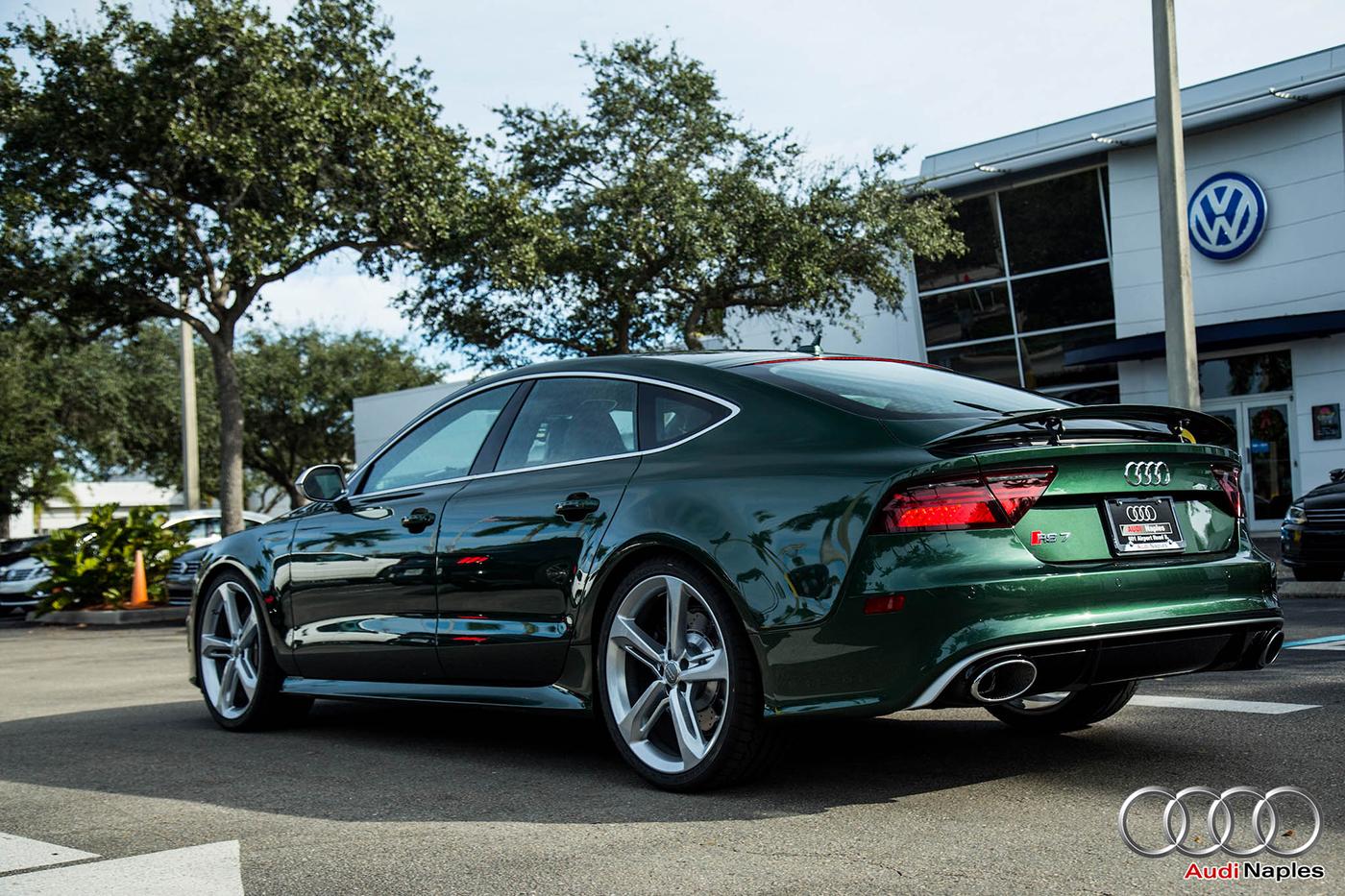 Audi Naples Levert Heerlijke Rs7 Sportback Af