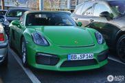 Einzigartiger Porsche Boxster Spyder gespottet