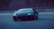 Lamborghini goes sideways with the Huracán LP580-2